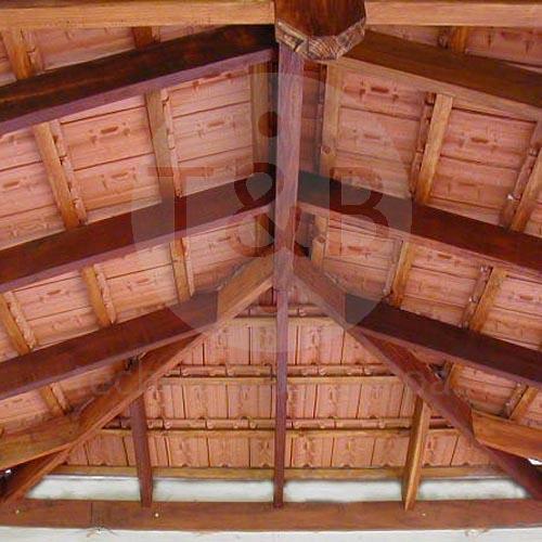 Techos barbacoas for Como hacer tejados de madera